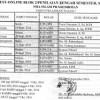 JADWAL TEST ONLINE & JADWAL ULANGAN BLOK 2, KELAS X. XI. XII