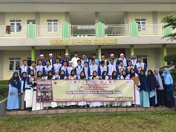 Kelas Layanan Agama Mengikuti Tahfidz Quran