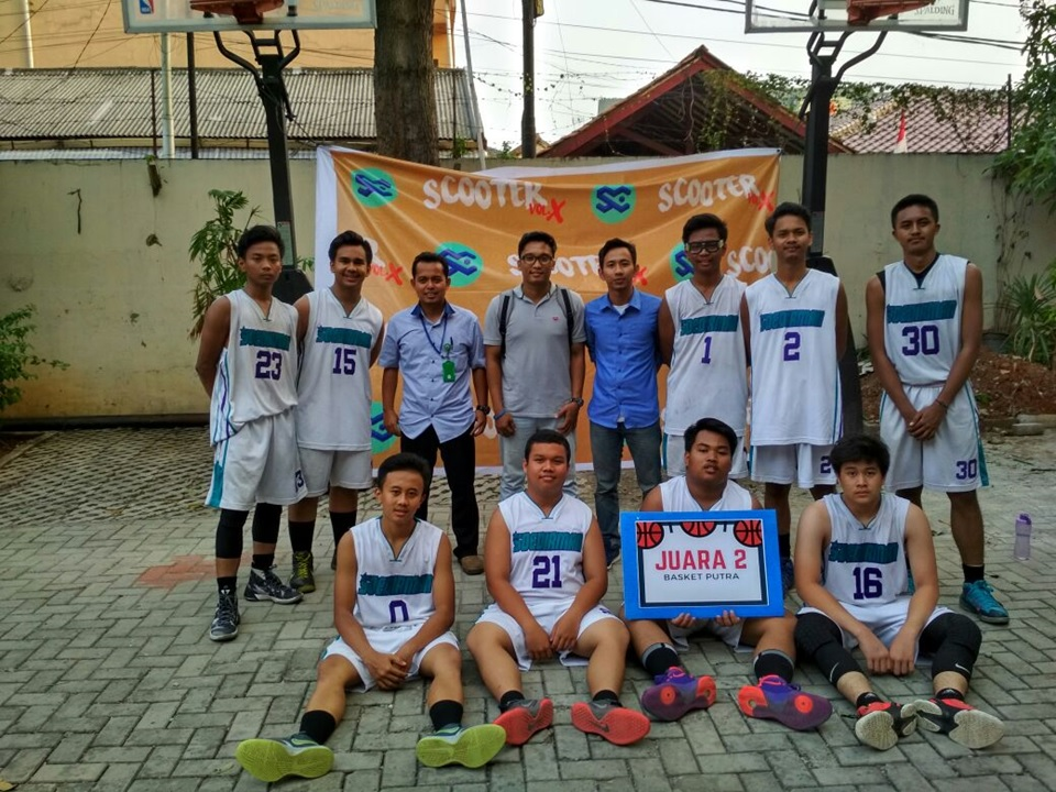 Juara 2 Basket di SMA Negeri 14 Jakarta
