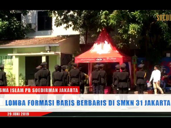 SMA Islam PB Soedirman Jakarta mendapat juara 2 kategori Bina di SMK N 31 Jakarta