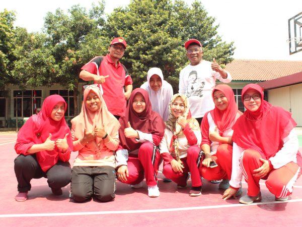 Tim Voly Gukar SMA Islam Soedirman Mendapat Juara 2 di ajang Lomba antar guru dan karyawan se Yayasan Soedirman